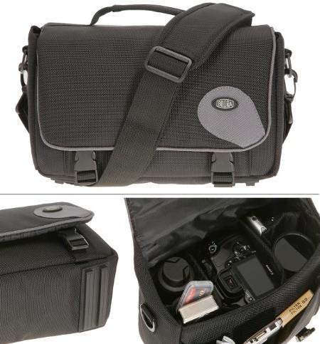 Bilora-287-90-Standard-Promo-Fototasche-passend-fr-Canon-EOS-500D-450D-400D-1000D-Nikon-D40-D60-D80-Panasonic-FZ28-FZ38-0