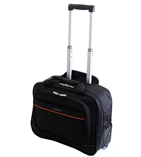 BusinesstrolleyReisetrolley-fr-154-Notebooks-Pilotenkoffer-mit-Rollen-Handgepck-0