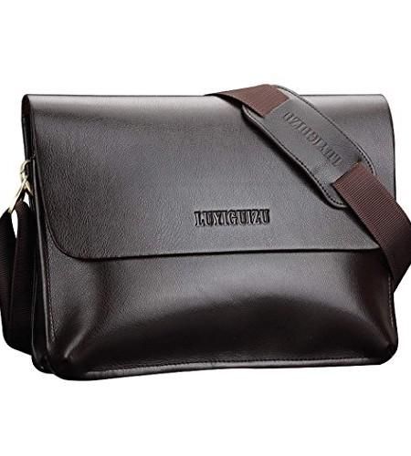 CRAVOG-Mnner-Handtasche-Leder-Briefcase-Schultertasche-Aktenkoffer-Business-Tasche-0