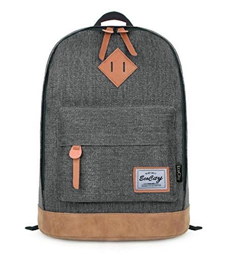 Ecocity-Klassisch-College-Schule-Laptop-Rucksack-Backpack-0