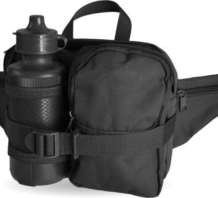 Hfttasche-mit-Trinkflasche-und-verstellbarem-Bauchgurt-0
