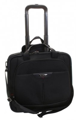 Samsonite-Pro-DLX-3-Businesstrolley-Laptop-Briefcase-with-Wheels-Rolling-Tote-164-0