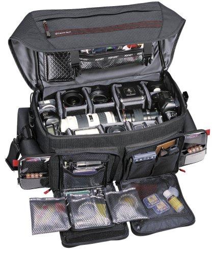 Tamrac-614-Super-Pro-14-Kameratasche-fr-SLR-Kamera-inkl-Zubehr-schwarz-0