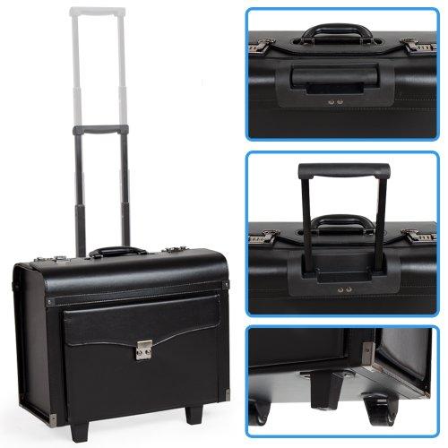 tectake pilotenkoffer aktenkoffer businesskoffer. Black Bedroom Furniture Sets. Home Design Ideas