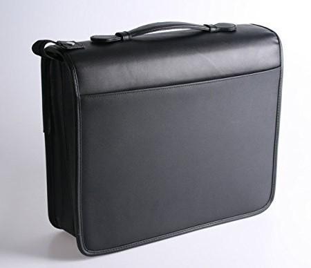 1PLUS-Echtleder-Konferenzmappe-inkl-Notizblock-und-Taschenrechner-0