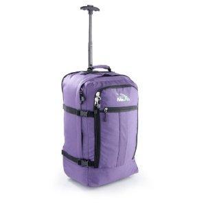 Cabin-Max-Flugzugelassenes-Handgepck-Rucksack-Tasche-44L-Rollengepck-Lila-0