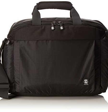 Crumpler-Track-Jack-Daytripper-TJDT-001-Reisetasche-Umhngetasche-mit-15-Zoll-Laptopfach-Schwarz-0