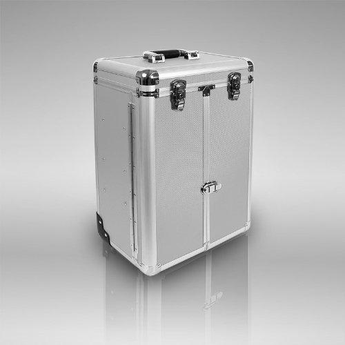 exklusiver aluminium sortimentskoffer trolley tackle box. Black Bedroom Furniture Sets. Home Design Ideas