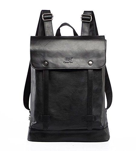 Neu-koreanisch-schick-Schler-Schultasche-Freizeit-Rucksack-Reisetasche-Laptoptasche-schwarz-0