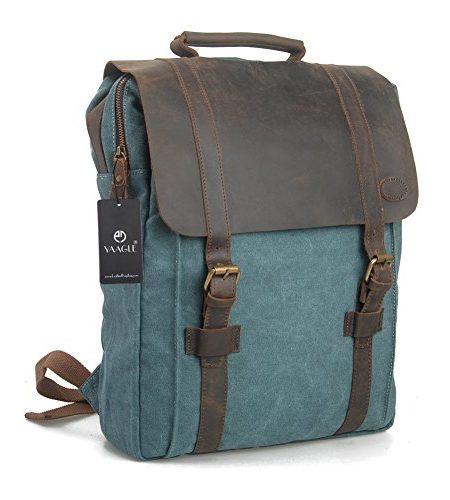 YAAGLE-Canvas-europisch-Damen-und-Herren-Unisex-Retrotasche-Rucksack-Reisetasche-gro-Fassungsvermgen-Schler-Schultasche-Laptoptasche-Schultertasche-blueLarge-0