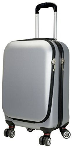 Business-Weekender-Trolley-Koffer-Austin-rot-oder-silber-36-Liter-silber-0