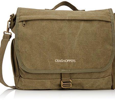 Craghoppers-Reisetasche-Lifestyle-Umhngetasche-Dk-Khaki-30-x-32-x-10-cm-9-Liter-CER5057-2AT000-0