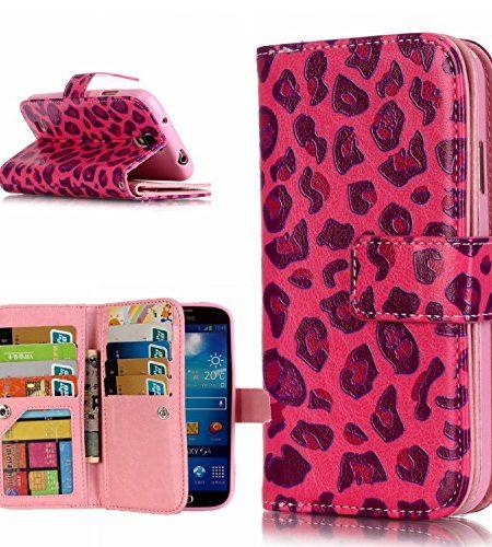 Ecoway-Schutzhlle-Cover-Handyhlle-Ledertasche-Brieftasche-Etui-fr-Samsung-Galaxy-S4-SIV-i9500-3D-Gemalte-Entlastung-Muster-Design-Folio-PU-Leder-Tasche-Case-Hlle-im-BookStyle-mit-9-Kartenfcher-PU-Lede-0