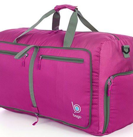 Reisetasche-diese-faltbare-53l-groe-Reisetasche-ist-bestndig-packbar-SUPERLEICHTE-410g-mit-abnehmbarem-Schulterriemen-lsst-sich-in-sich-falten-am-besten-als-Gepck-oder-Sporttasche-VERMEIDEN-SIE-GEBHRE-0
