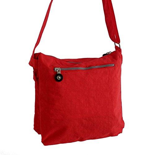 umh ngetasche aus stoff von bag street schultertasche freizeittasche wandertasche sporttasche. Black Bedroom Furniture Sets. Home Design Ideas