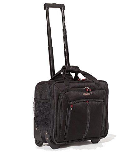 Aerolite-17-Business-Tasche-Laptop-Tasche-Zugelassen-fr-Ryanair-Easyjet-BA-Jet2-Schwarz-0