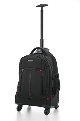 Aerolite-21-4-Rad-Trolley-Rucksack-Laptop-Tasche-Handgepck-Business-Taschen-Rucksack-Umhngetasche-Zugelassen-fr-Lufthansa-Air-Berlin-Ryanair-Schwarz-0