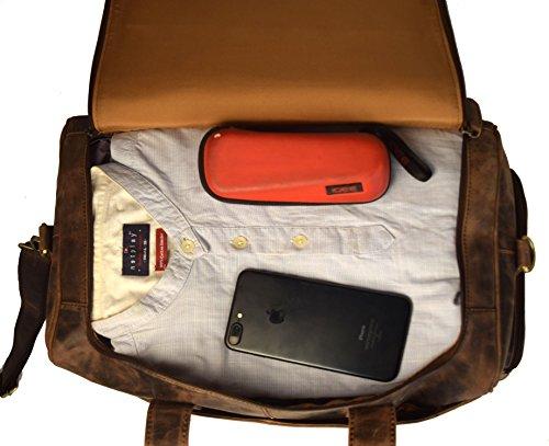 bear goodies st louis weekender aus echtem b ffel leder im vintage look ledertasche. Black Bedroom Furniture Sets. Home Design Ideas