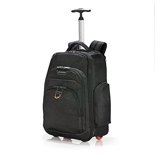everki atlas laptop rucksack auf rollen rucksack trolley f r notebooks von 13 bis 17 3 zoll. Black Bedroom Furniture Sets. Home Design Ideas