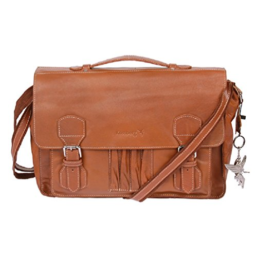 74fc6193e9e9d Modell Saladir  Leder Shopper Tasche Unisex Aktentasche Lehrertasche  Schultasche von Marvinia Kossberg