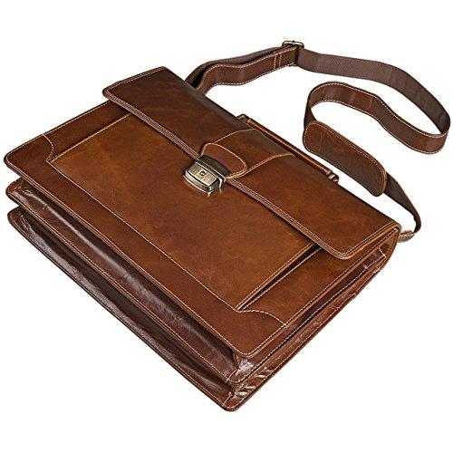 stilord businesstasche leder herren damen a4 b rotasche 13 3 zoll ledertasche umh ngetasche. Black Bedroom Furniture Sets. Home Design Ideas
