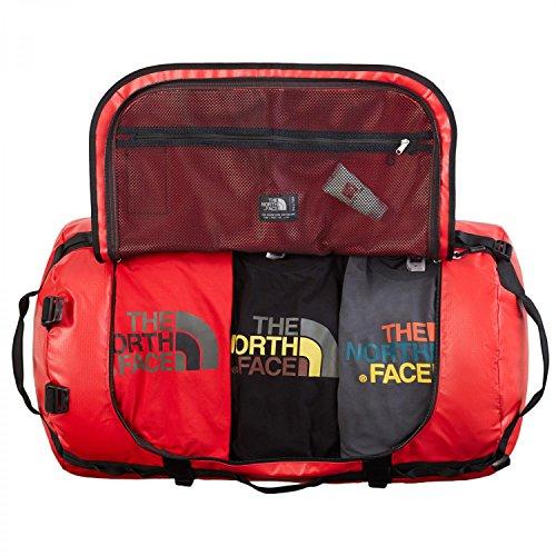 the north face erwachsene reisetasche base camp duffel red. Black Bedroom Furniture Sets. Home Design Ideas