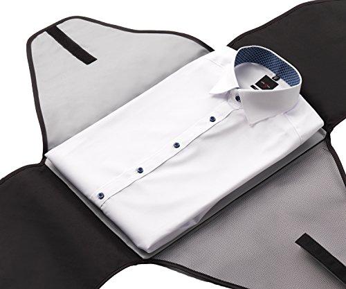 alpamayo hemdentasche kleidertasche f r knitterfreie hemden auf reisen f r den transport von. Black Bedroom Furniture Sets. Home Design Ideas