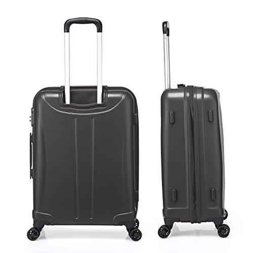 verage hero handgep ck koffer grau s 48cm 19 trolley. Black Bedroom Furniture Sets. Home Design Ideas