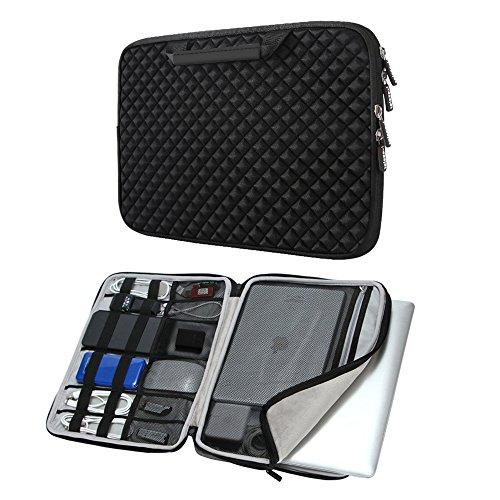 icozzier 13 13 3 zoll laptoptasche mit handgriff und. Black Bedroom Furniture Sets. Home Design Ideas